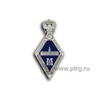 Нагрудный знак МАГИСТР с символикой РАН, фрачный