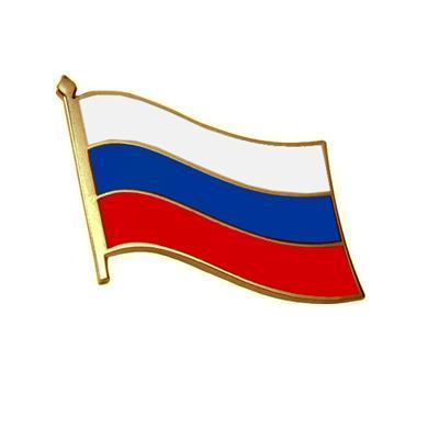 фрачный значок Российский флаг